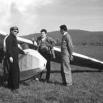 Le planeur en 1960 à Thise
