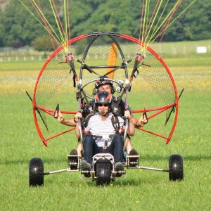 Paramoteur Chariot Biplace 01